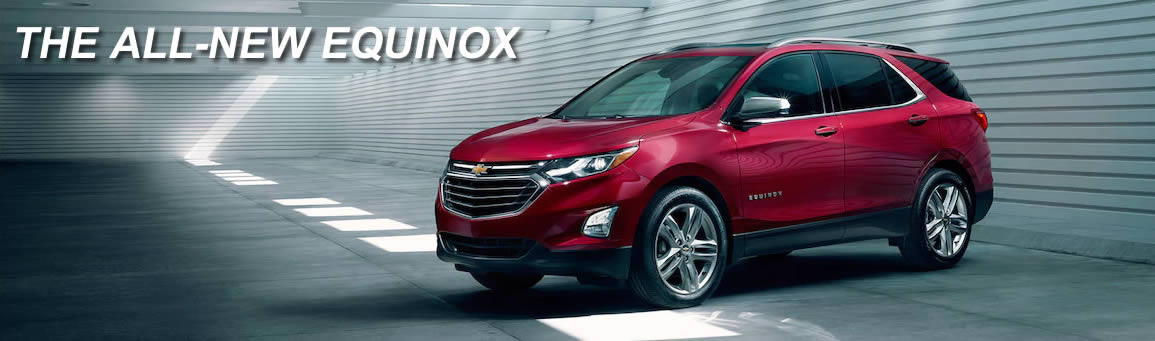 2018 Chevy Equinox In Stock Now