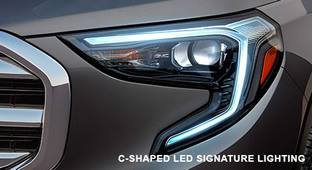 2018 GMC Terrain Lighting