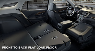 2018 GMC Terrain Front to Back Flat Load Floor