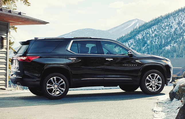 2018 Chevy Traverse  Deals in NH