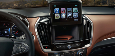 2018 Chevy Traverse Interior Storage