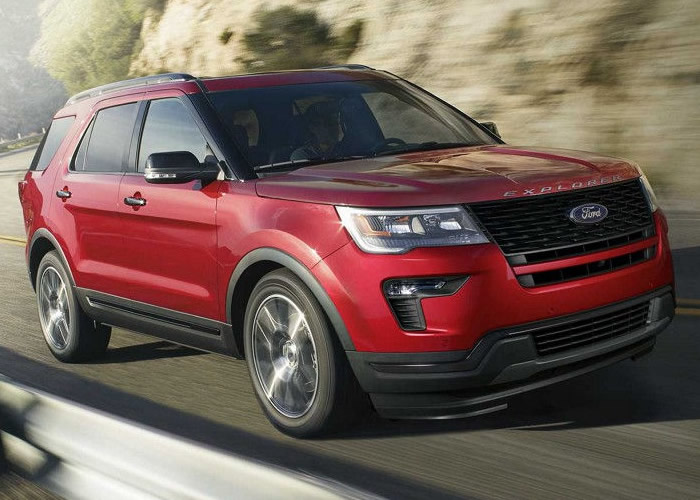 Lease deals on ford explorer 2018