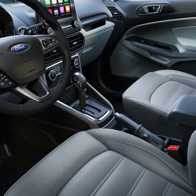 2018 Ford EcoSport Leather Interior