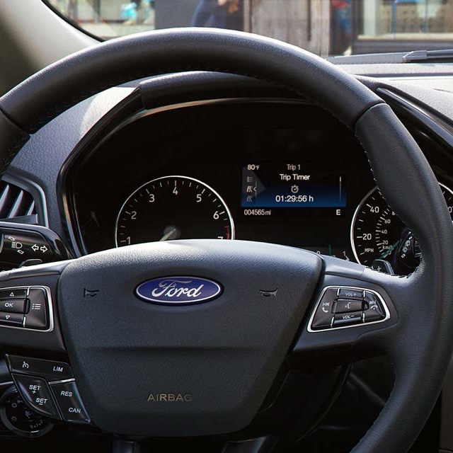 2018 Ford EcoSport Steering Wheel