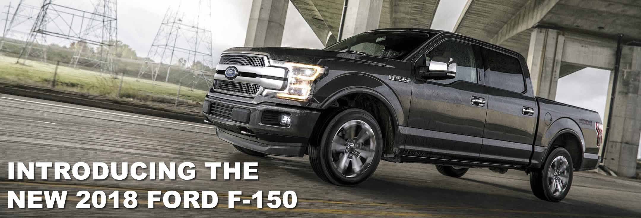 2018 Ford F-150 arrival date